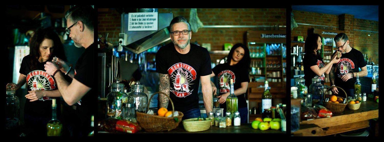 Sunshiner Fan - T-Shirts zum Destillieren