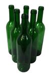 "Wine bottle ""Bordeaux"" green (0,75 L)"