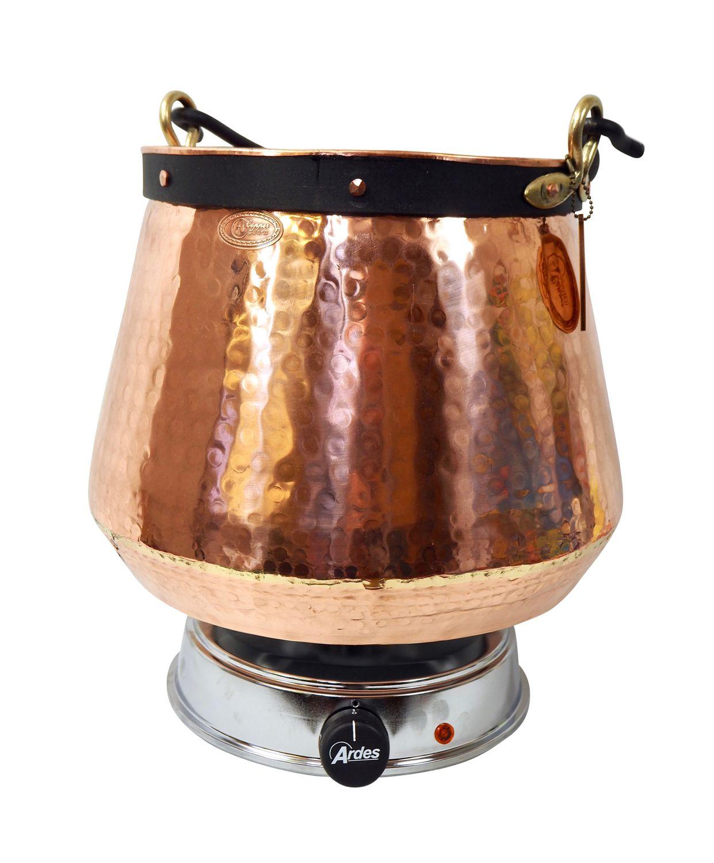 CopperGarden® Feuerzangenbowle 20 Liter Kupferkessel mit