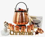 CopperGarden® Feuerzangenbowle ❀ 20 L copper cauldron ❀ with accessories