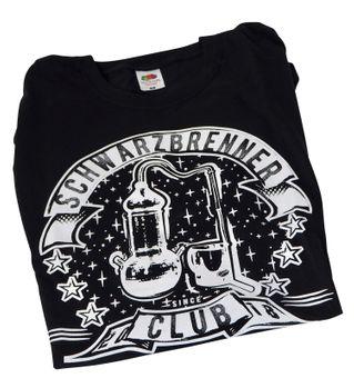 T-Shirt ❀ Schwarzbrenner Club ❀ verschiedene Größen