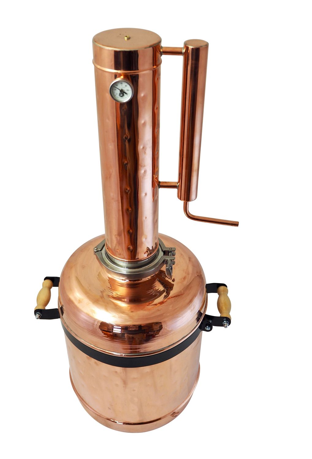"""CopperGarden®"" Destille ""Easy Moonshine XL"" ❀ 12 Liter ❀ mit Thermometer"