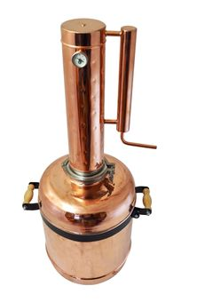 """CopperGarden"" Destille EASY  MOONSHINE XL - 12 Liter - mit Thermometer"