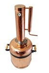 """CopperGarden®"" "" Easy Moonshine"" distilling apparatus 12 L with thermometer"