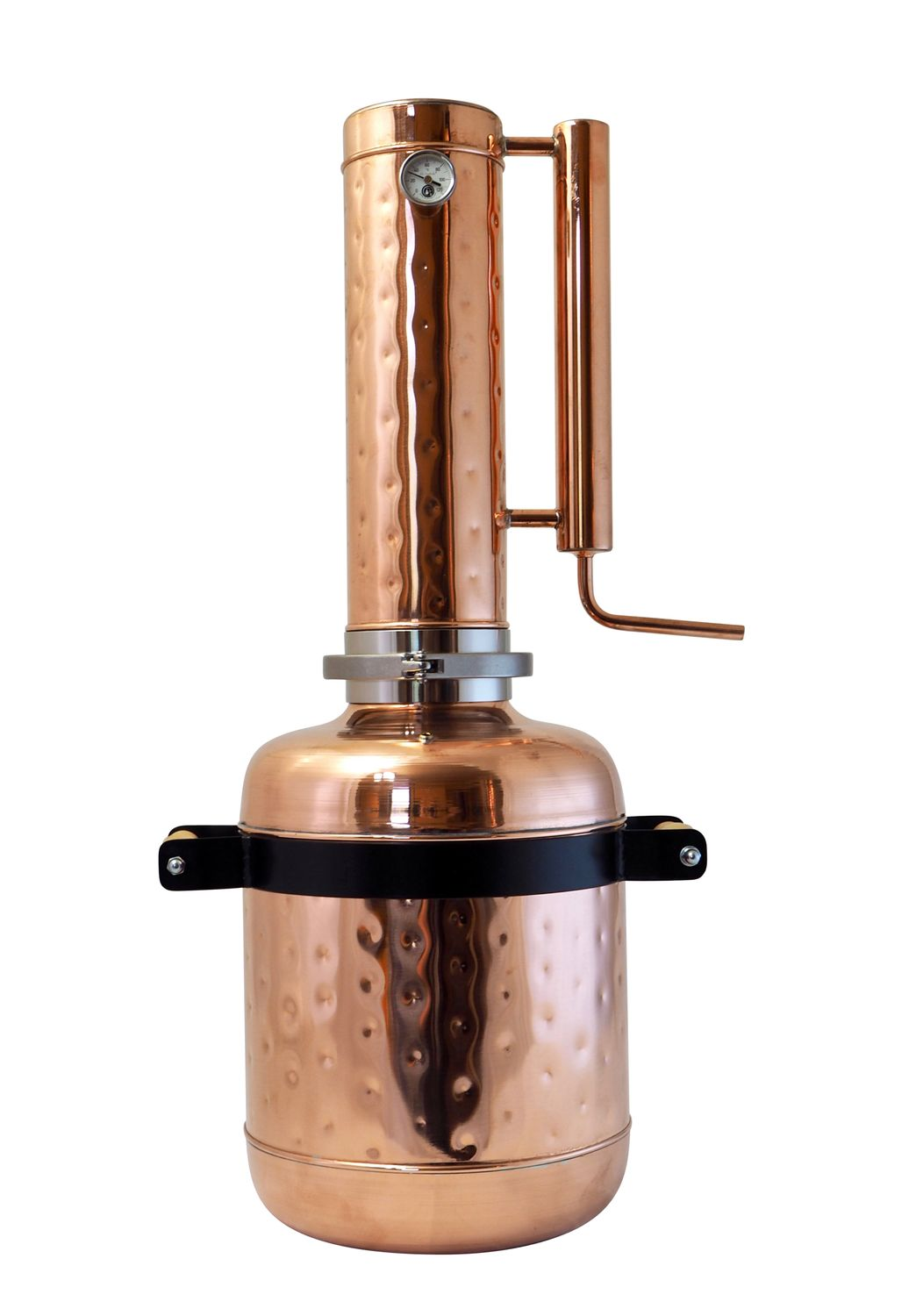 """CopperGarden"" Destille EASY  MOONSHINE XL - 24 Liter - mit Thermometer"