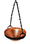 """CopperGarden®"" Celtic Copper Cauldron 5 litres with metallic suspension"