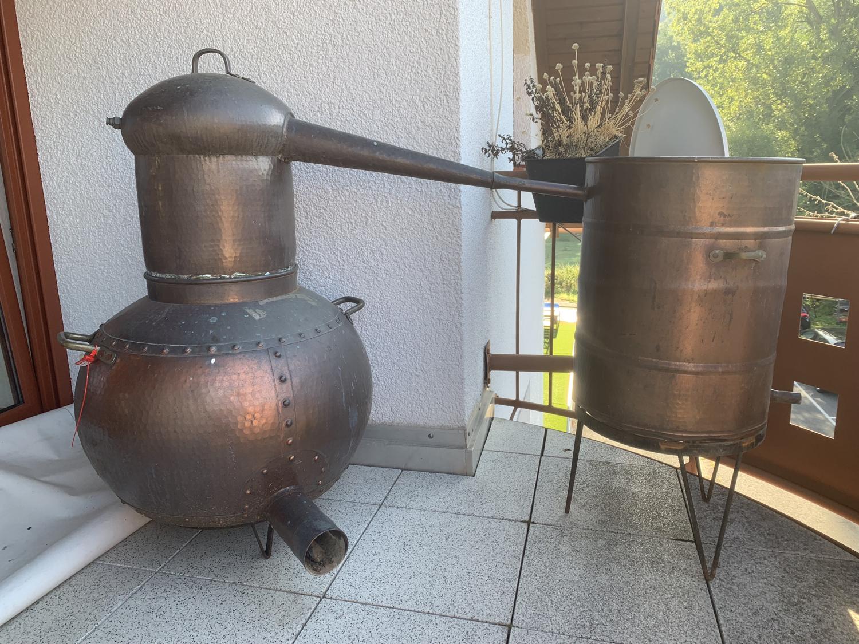 Einzelstück: Dekodestille 150 Liter Arabia - historischer Nachbau