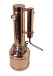 """CopperGarden"" Destille EASY  MOONSHINE XXL 2 Liter mit Thermometer - neues Modell"