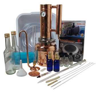 """CopperGarden®"" Alambicco ""Easy Moonshine"" ❀ 2 litri XXL ❀ set completo"