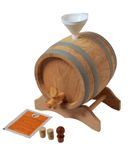 1 L Barrel with wooden stand in a set, European oak wood