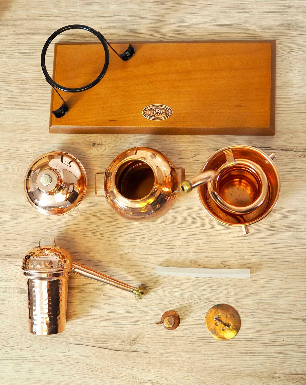 Ersatzteil: Brennkessel für die ARABIA Destille - 0,5 Liter - CopperGarden®