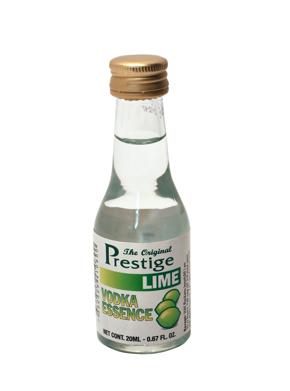 """Prestige"" Wodka Limette, 20ml"