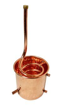 Ersatzteil: Kühler für die ALEMBIK Destille - 2 Liter - CopperGarden®