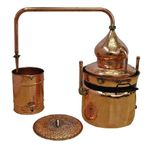 """CopperGarden®"" water bath still ""Hydro"" 50 liters"
