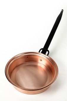 """CopperGarden®"" copper pan with long handle, 18 cm"