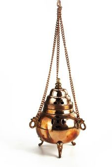 """Berk"" Eglise - Hanging Dhoop Burner"