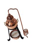 "Lampe aromatique alambic de ""CopperGarden®"""
