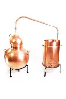 """CopperGarden®"" Appareil de distillation Alambic 250 L soudé"
