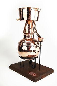 """CopperGarden®"" Miniatur-Alquitara 0,5L Teelicht"