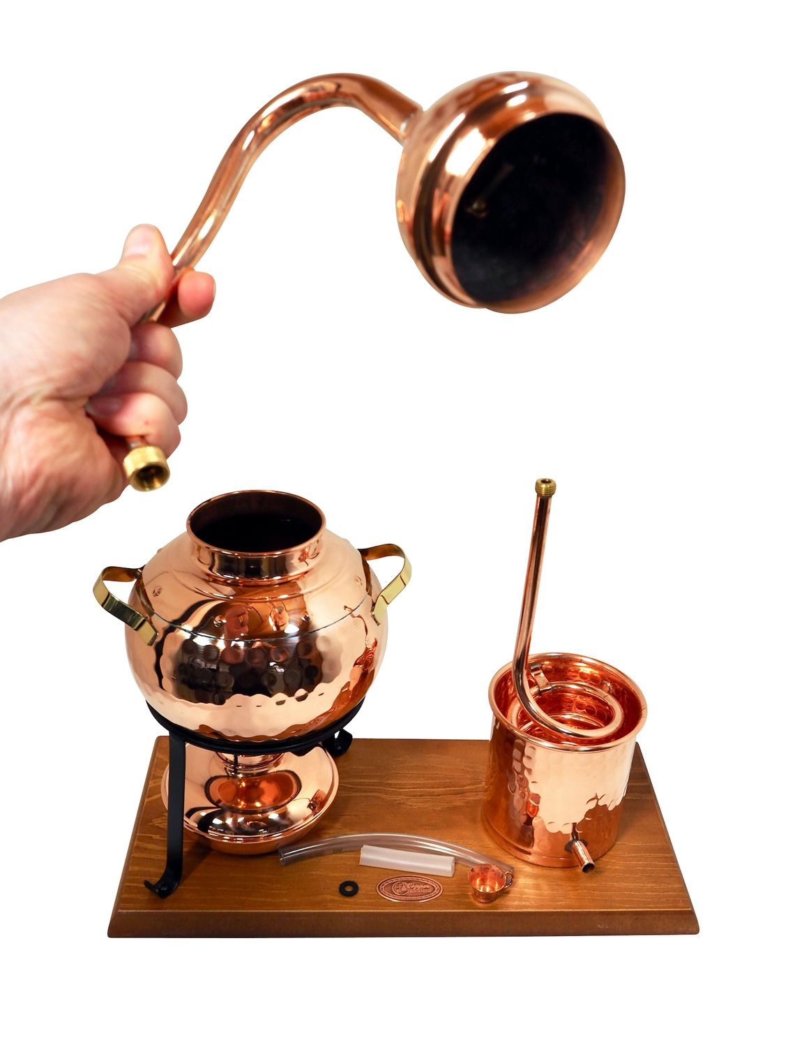 CopperGarden®  still 2L Alembic with spirit lamp
