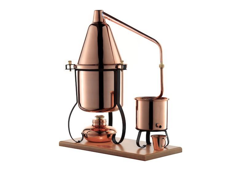 CopperGarden®  Destillieranlage ITALIA 2 Liter mit Spiritusbrenner