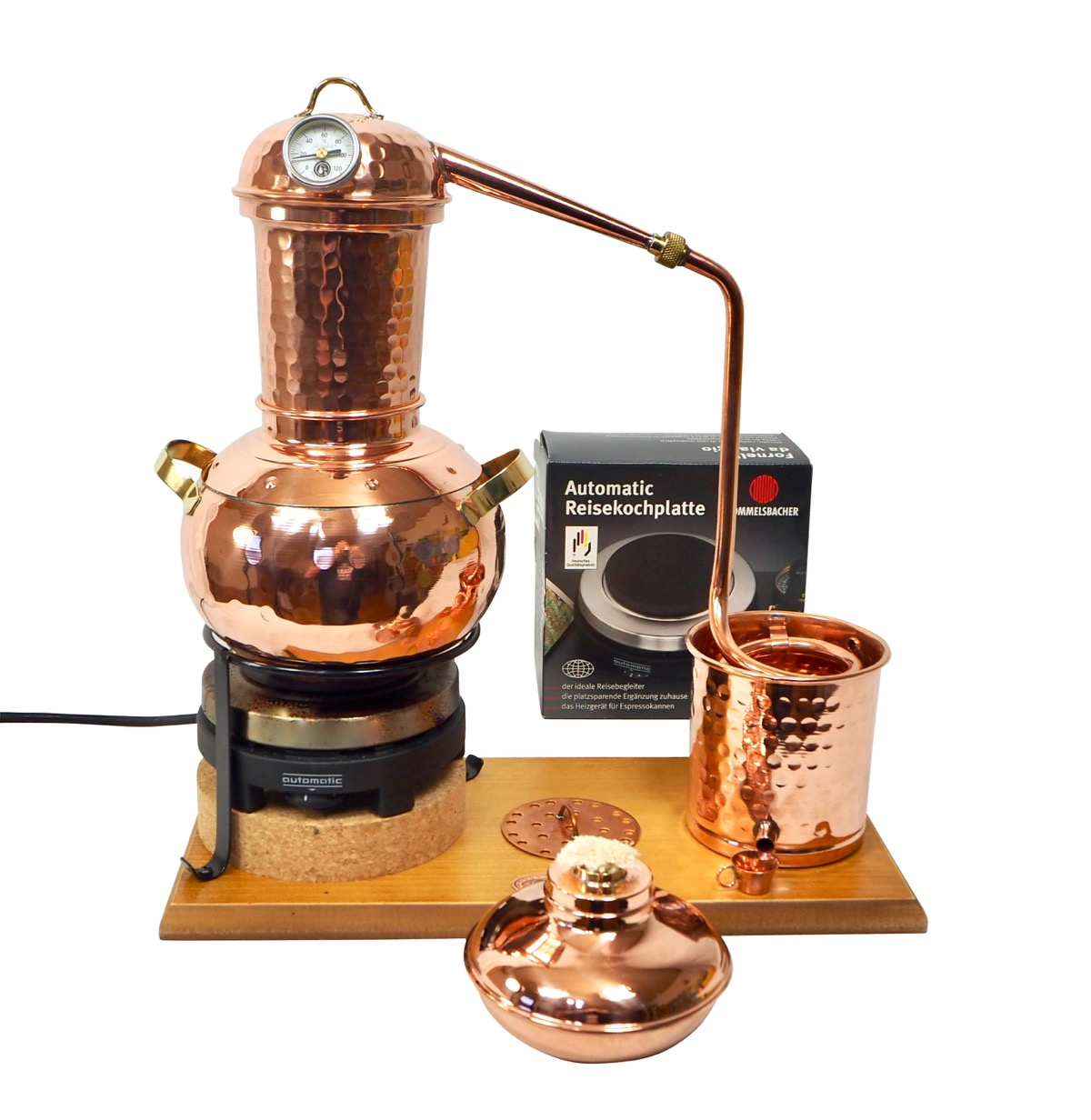 CopperGarden   Dispositif de distillation Arabia 2L, électrique