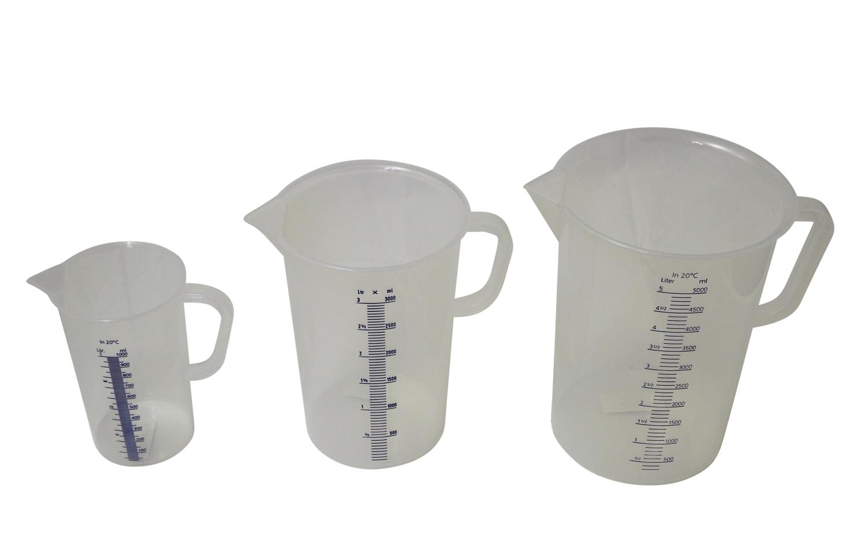 Hecht  Messbecher 5 Liter - deutsche Laborqualität