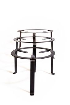 Iron stand / tripod 40 cm - for cooking & presentation