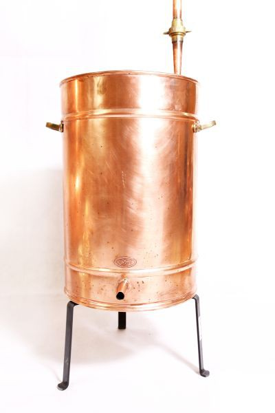 CopperGarden®  Appareil de distillation Alambic 400 L soudé