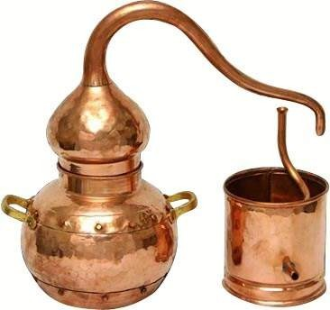 CopperGarden®  still alembic ECO 1 liter