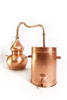 """CopperGarden®"" alembic 10 liter - lifetime Supreme"