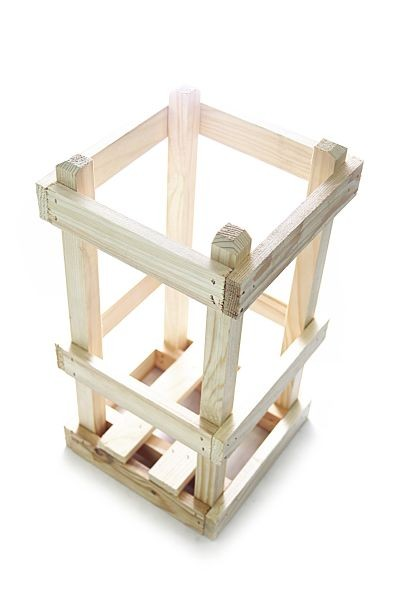 Wood Crate for Demijohn / glass carboy 5 liters