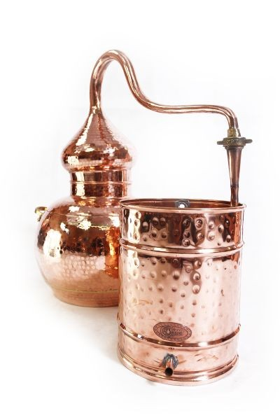 CopperGarden  alembic still 20L, welded