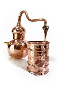 """CopperGarden"" alembic still 3L – riveted"
