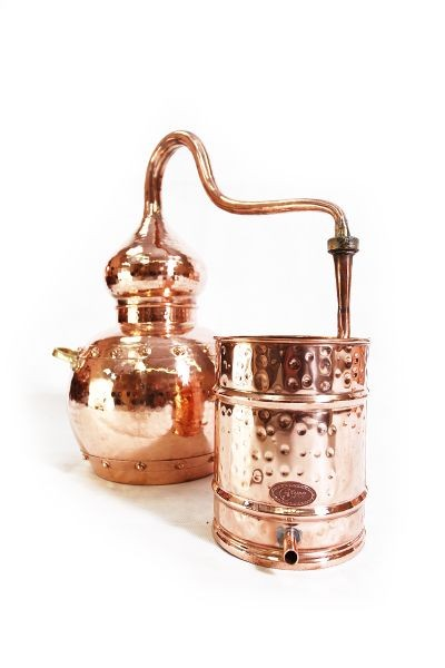 CopperGarden  alembic 30L, riveted