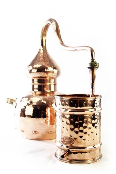 CopperGarden®  alembic still 5L, riveted