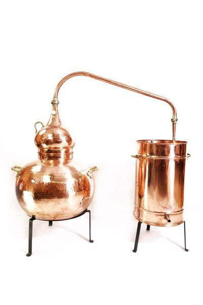 CopperGarden  Destille Alembik 50L, genietet