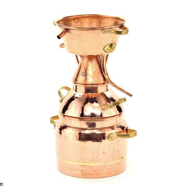 CopperGarden® Destille Alquitara ❁ 100 Liter ❁ für ätherische Öle