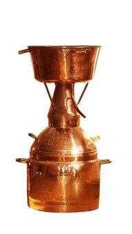 """""""CopperGarden®"""" Destille Alquitara ❁ 150 Liter ❁ für ätherische Öle"""