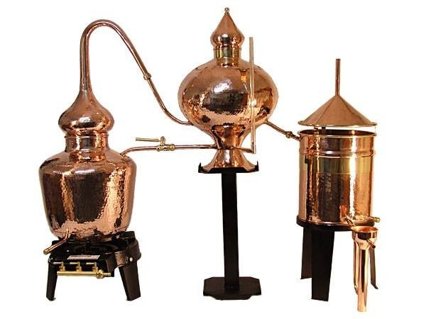 CopperGarden®  cognac still Charentais 20 liters