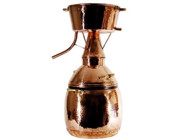 CopperGarden®  Destille Alquitara ❁ 250 Liter ❁ für ätherische Öle