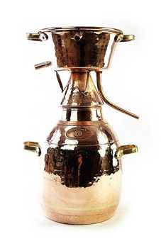 """""""CopperGarden®"""" alquitara still, 10 liters (traditional)"""