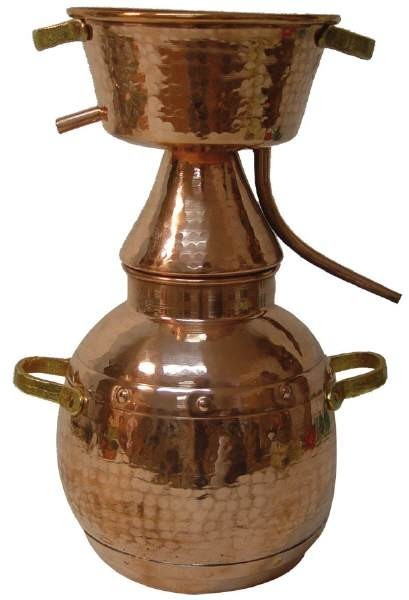 CopperGarden©  Alquitara traditionnelle 15 litres