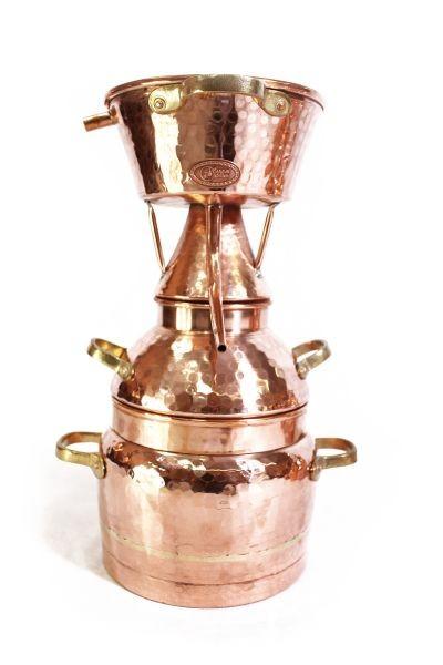 Alquitara 3 litres  pour huiles essentielles -  CopperGarden