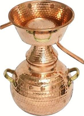 Alquitara 3 litres (traditionnelle) -  CopperGarden®
