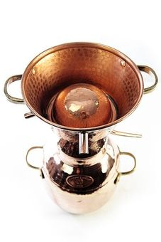 """CopperGarden®"" still Alquitara 5L, traditional"