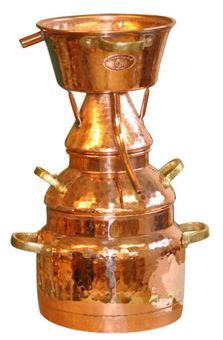 "Alquitara  50 litres pour les huiles essentielles - ""CopperGarten®"""