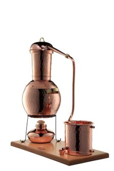 "Arabia 2L Alembic still, with burner and steam sieve - ""CopperGarden®"""