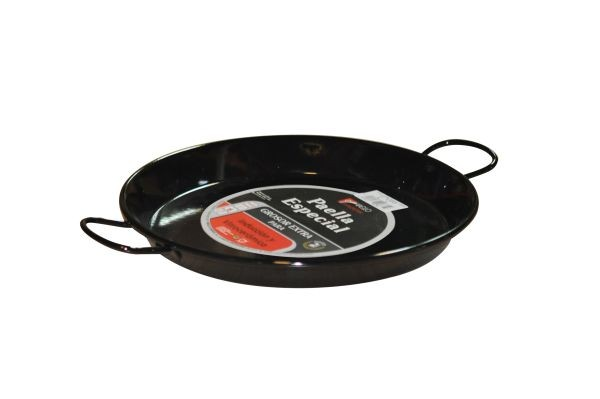 Vaello  paella pan (30 cm), steel bottom, enamelled