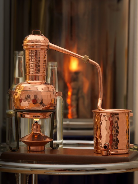 CopperGarden®  Arabia 0.5L still : steam distillation apparatus